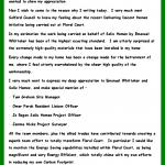 Petitt letter