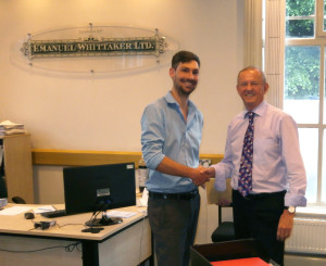 Managing Director, Clive Newton wishes peter a fond farewell