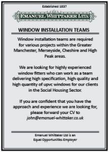 Advert Window Installation Teams