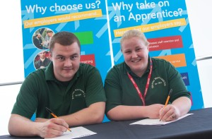 Oldham apprentices lead the way
