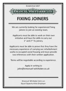 advert Fixing Joiner