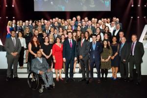 National Apprenticeship Awards 2014 : LG Arena : NEC