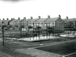 Weaste Steel being built - 1940s